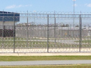 (Photo taken outside of Wakulla correctional facility outside of Tallahassee, FL.)