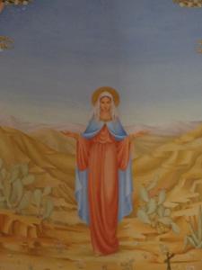 (Photo taken at the Church of the Visitation, Ein Kerem, Israel.)