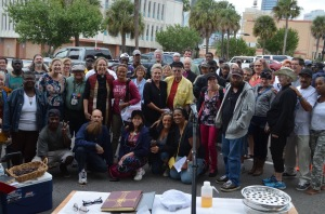 (Photo taken by Mary Hamilton at Church Without Walls in Jacksonville, FL, Oct. 18, 2015)